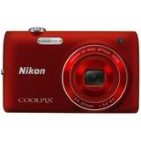 尼康(Nikon)COOLPIX S4150数码相机(红色)