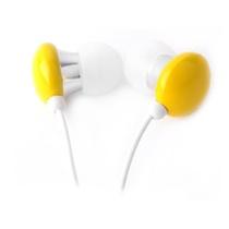 宾果(Bingle)i803 耳机入耳式耳机(黄色)(闪亮外壳采用的是经过抛光处理,而内部入耳部分则为金属制成,稳固光亮)
