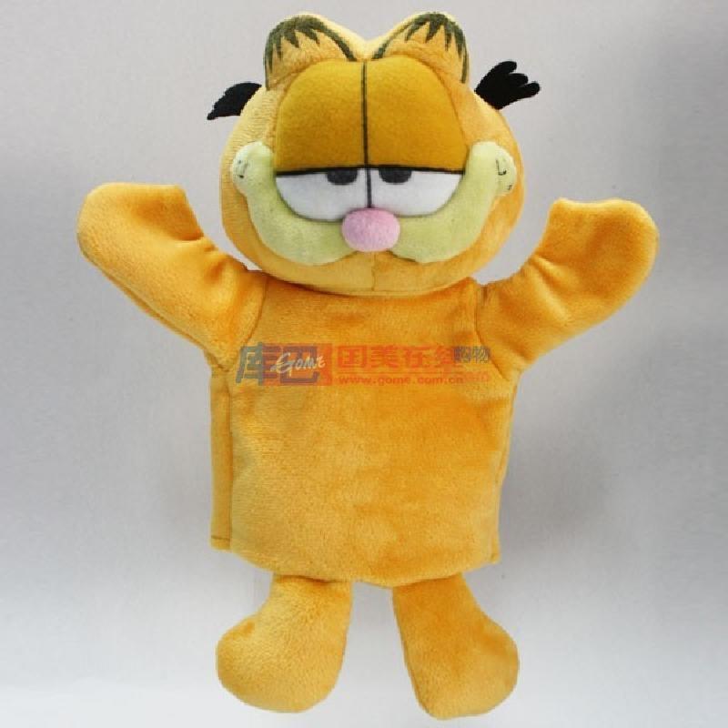 澳捷尔--加菲猫手偶