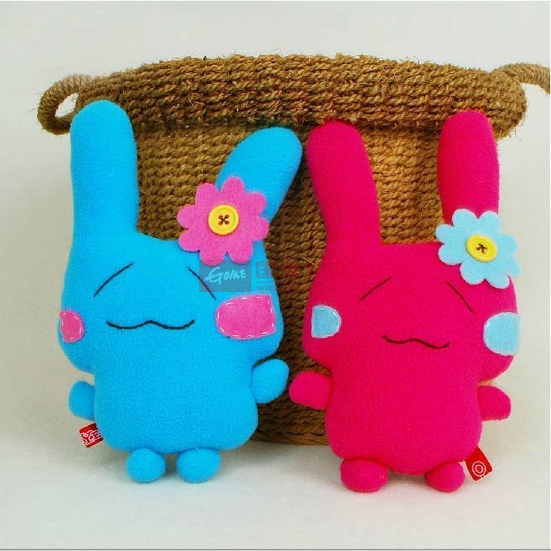 手工布偶小甜甜兔 女生最爱 diy材料包 创意