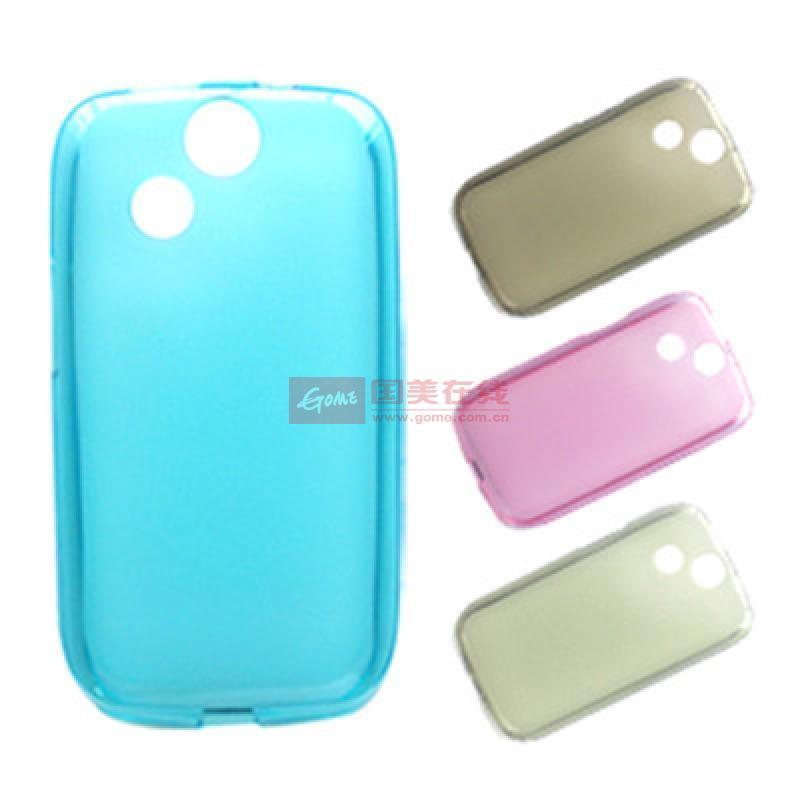 酷玛特朵唯d710手机壳手机套保护壳防护壳外壳外套小布丁(浅蓝)