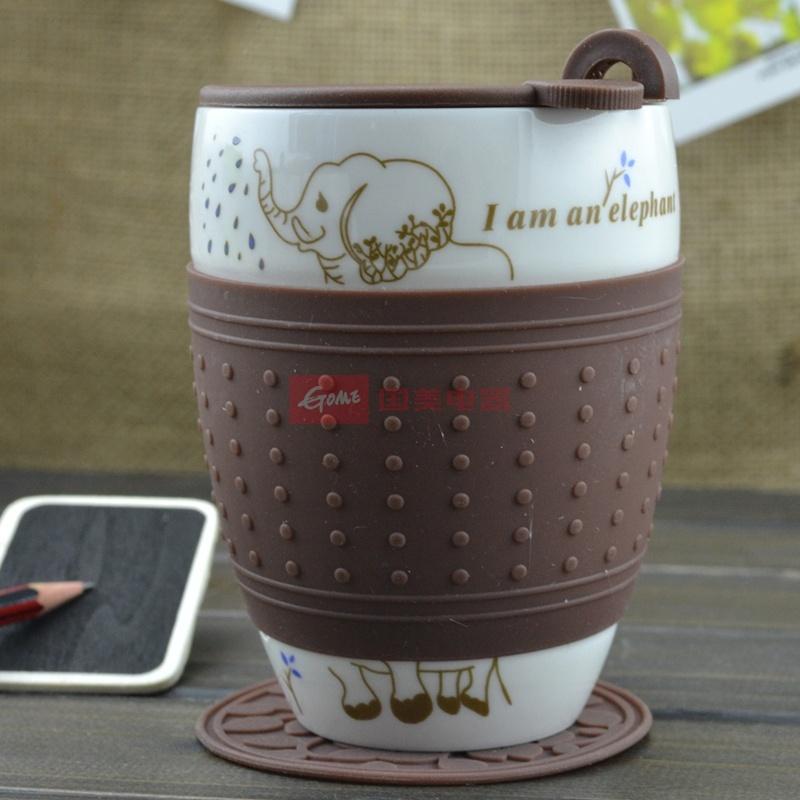 一品望家卡通咖啡杯