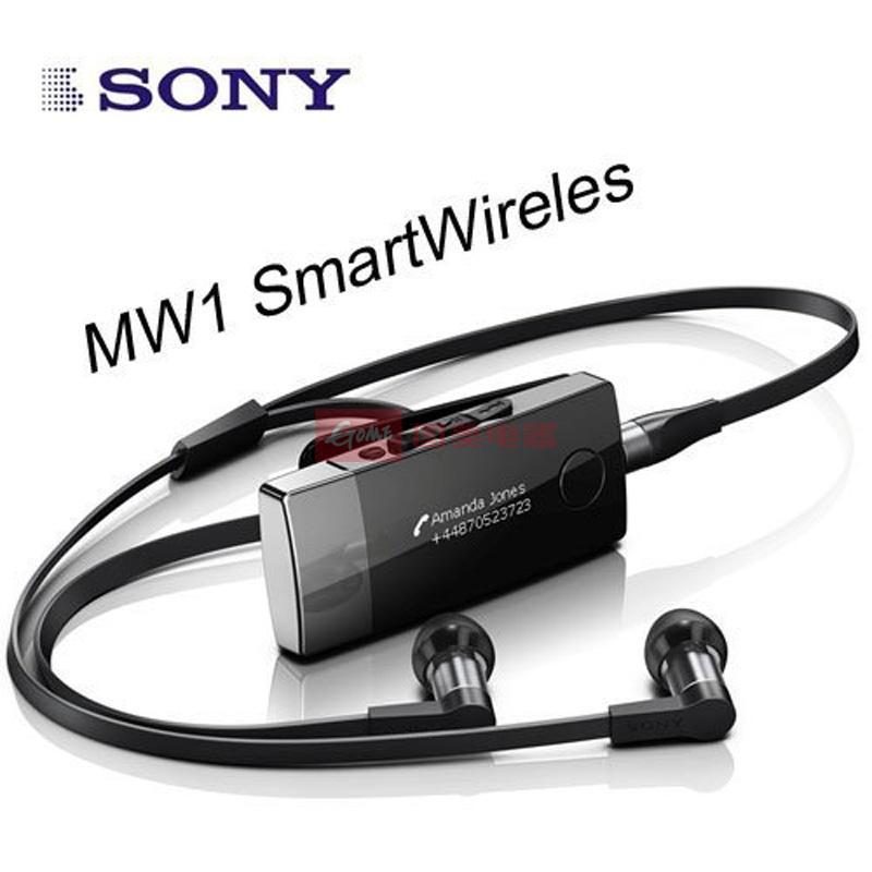 索尼(sony)mw1 蓝牙耳机 无线mp3 黑色