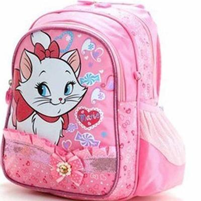 迪士尼disney 玛丽猫幼儿小书包 学前班书包 女童r0037(粉色)图片