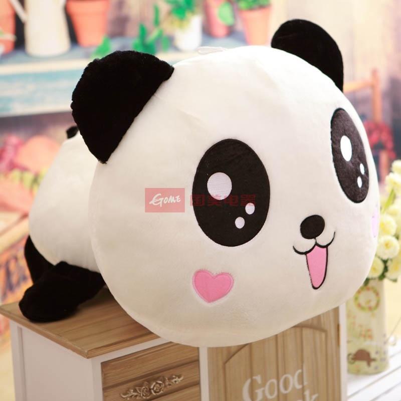 猫公仔熊毛绒玩具大号娃娃生日礼物送女友趴趴熊抱枕(桃心泪眼可爱款