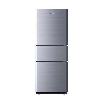 海信(hisense)bcd-210du/b 210升三门冰箱(银)