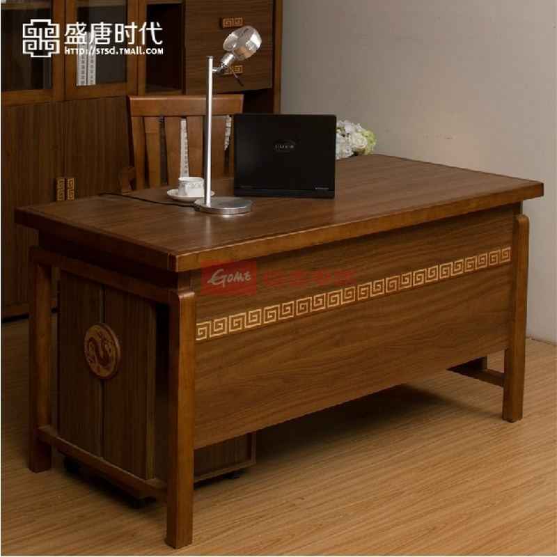 实木办公桌电脑桌