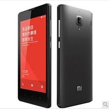 小米(MI)红米手机 移动版3G手机 TD-SCDMA/GSM 双卡双待(灰色 套餐二)