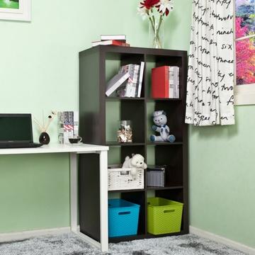 家4*2书架储物柜 书房办公家具 简约隔断屏风书橱 w-bc537