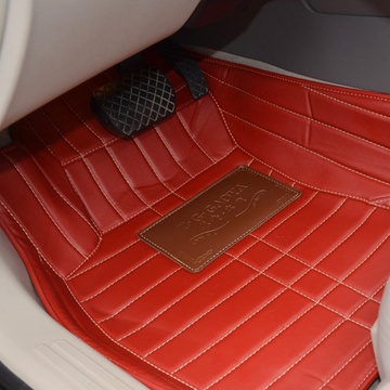 途睿 大包围汽车脚垫 高档加厚皮革 海马海福星骑士丘比特高清图片