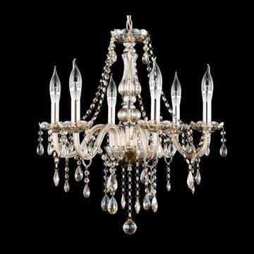 光恩garnen 欧式简约水晶吊灯 客厅餐厅卧室婚庆水晶灯gn4008(无灯罩