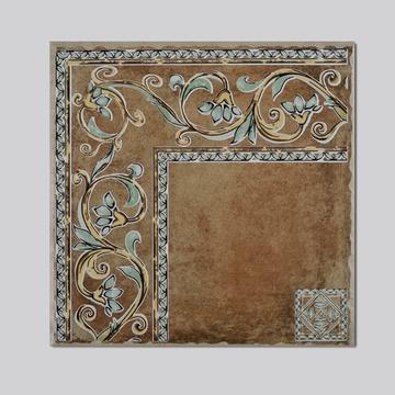 高恩瓷砖 地中海仿古砖 美式田园风格 客厅仿古瓷砖拼花组合 地砖(xd图片