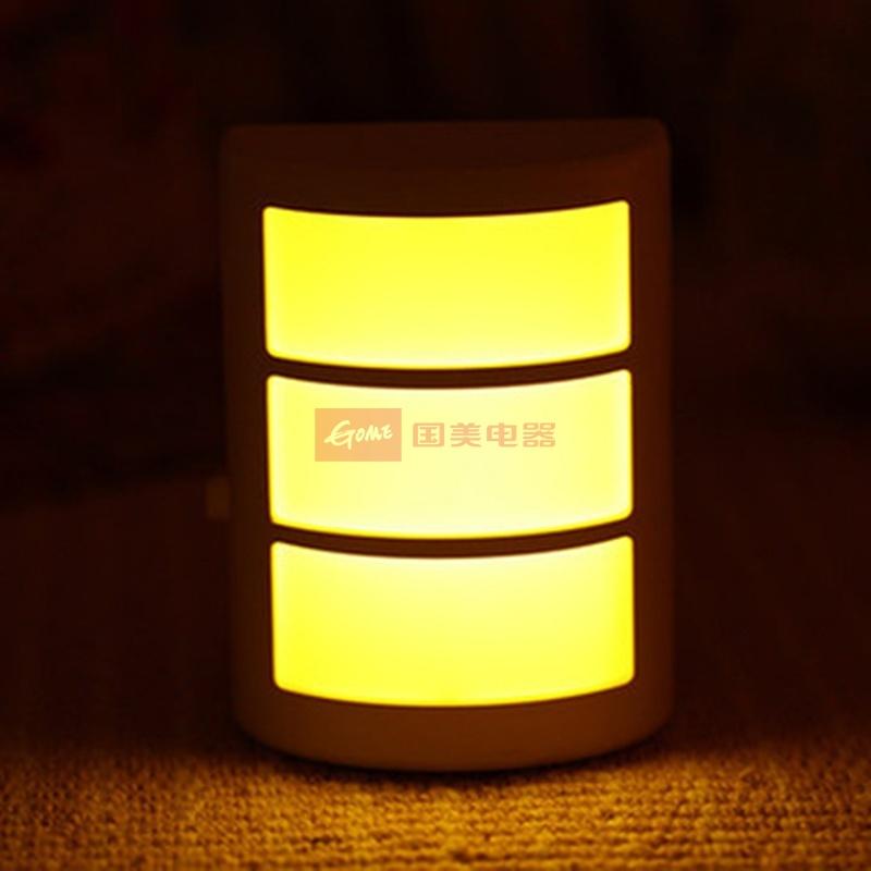 创意led节能插电声控小夜灯 床头感应灯卧室宝宝灯婴儿灯喂奶灯壁灯