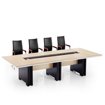 熠升辦公家具鋼架/板式會議桌 簡約時尚現代洽談桌 辦公桌 培訓桌bhyz