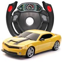 大黄蜂超大方向盘遥控玩具车 超长遥控距离,质感逼真