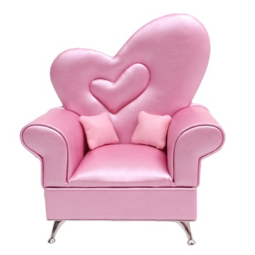 欧式粉红色沙发图