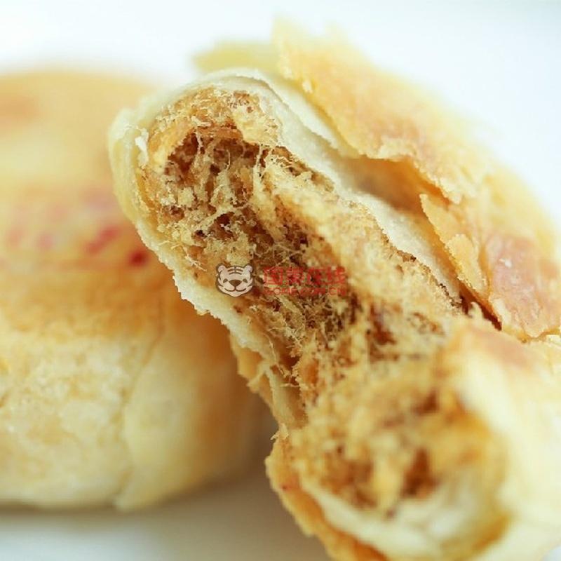 天伦 苏式肉松月饼(千层酥)30g/个 独立包装(千层酥30g*20)