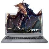 宏�(acer)V5 573G 15.6英寸笔记本电脑 四代i5/i7处理器 GT750 4G独显 1080分辨率(银色 i5高清850 4G 官方标配)