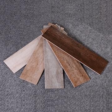 地面砖木地板木纹砖仿木地砖卧室地板砖田园