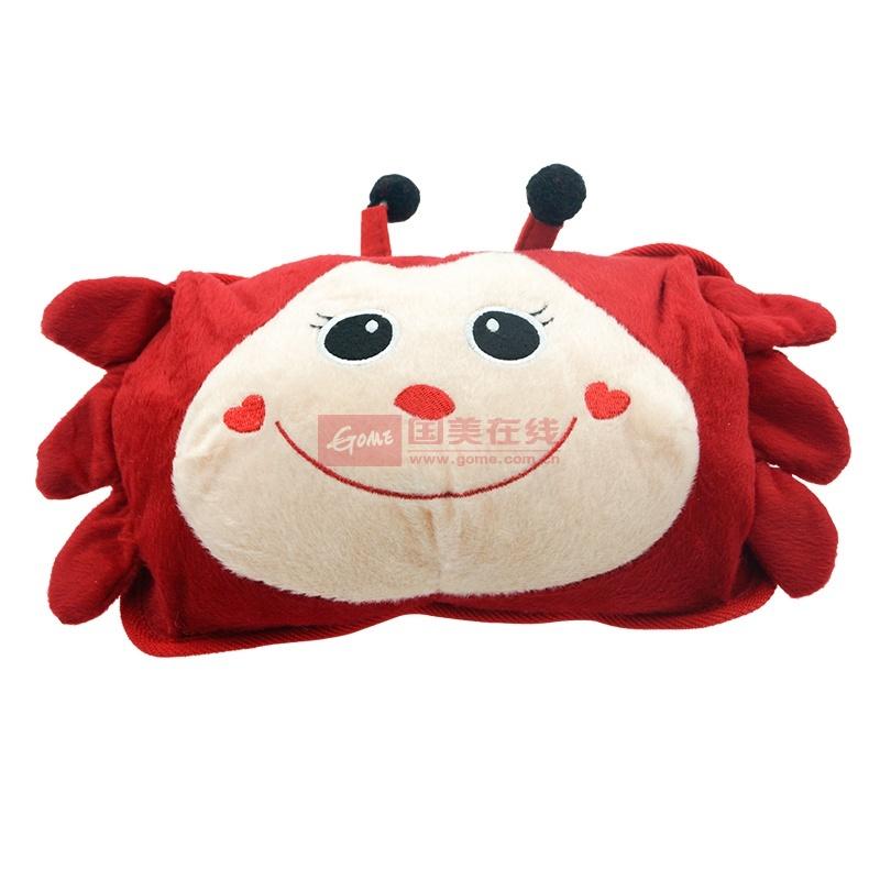 【耀点100居家软饰图片】耀点100 可爱小螃蟹双插手袋