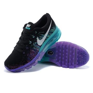 nike flyknit air max 彩虹编织气垫耐克跑步鞋(620659-001 38)图片