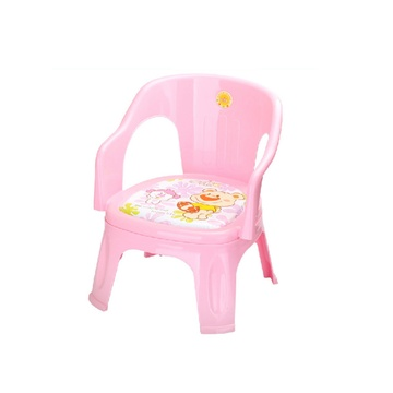 日康 儿童椅发声座椅宝宝小椅子塑料靠背椅叫叫椅小板凳正品(红色)