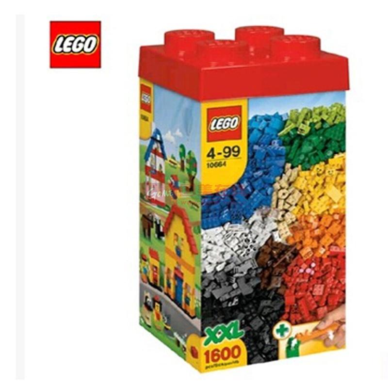 乐高lego 益智积木 创意塔xxl装小颗粒
