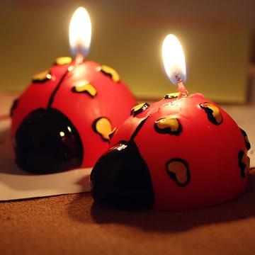 趣玩可爱圣诞蜡烛(甲壳虫)