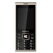 康佳(KONKA)D800 手机 语音王手写按键双输入 大字大键大屏大声 双卡双待手机 超长待机GSM(黑+金 官方标配)