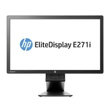 惠普(HP) EliteDisplay E271i 显示器   27 英寸 IPS LED 背光显示器