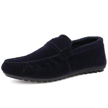 凡世界2015春季新款男单鞋 豆豆鞋平跟平底鞋加绒懒人