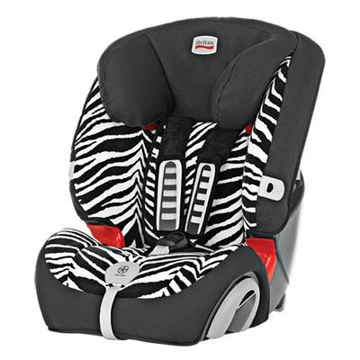 Britax宝得适/百代适 汽车儿童安全座椅 超级百变王 适合9-36kg(约9个月-12岁)(小斑马)