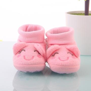 婴儿高帮棉鞋的做法图解