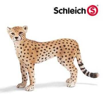 德国schleich思乐猫科动物模型狮子老虎黑豹猎豹美洲