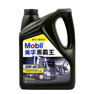 美孚(mobil)黑霸王机油