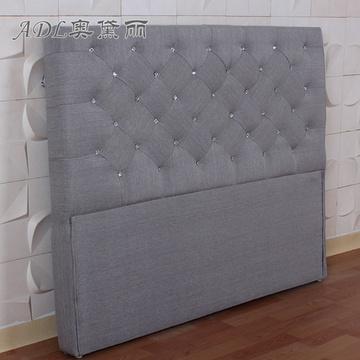 adl/奥黛丽 欧式床头 床屏床头定制 床靠背床靠包经典