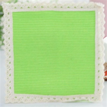 欧式纯棉编织正方形隔热杯垫