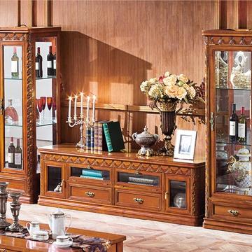 电视柜美式古典组合欧式电视柜