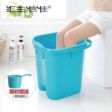 摩塑料泡脚桶脚盆