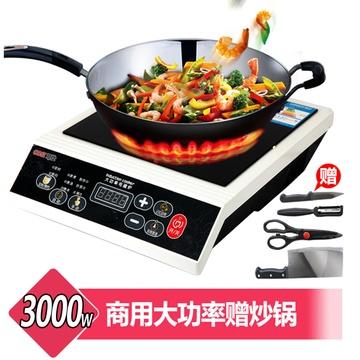可仕大功率电磁灶 gw-30d11商用电磁炉 3000w 大功率 商用家用 酒店餐