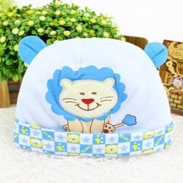 新款宝宝帽子男女童帽婴儿帽子秋冬季可爱造型狮子帽
