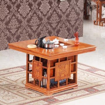 红木家具茶几 实木茶台