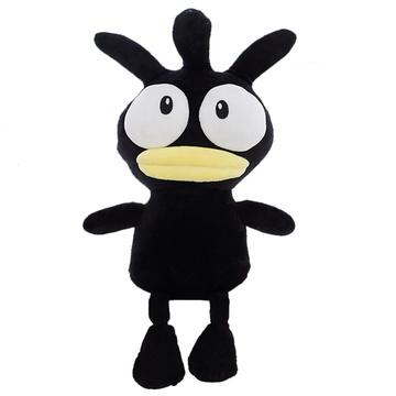 韩国超呆萌黑小鸡公仔毛绒玩具趣味可爱娃娃玩偶创意