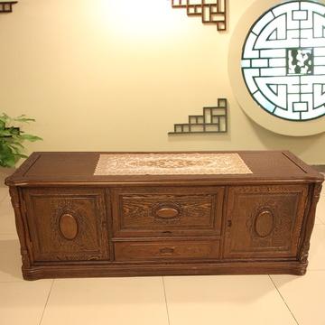 6米红木电视柜实木影视柜房间小电视柜鸡翅