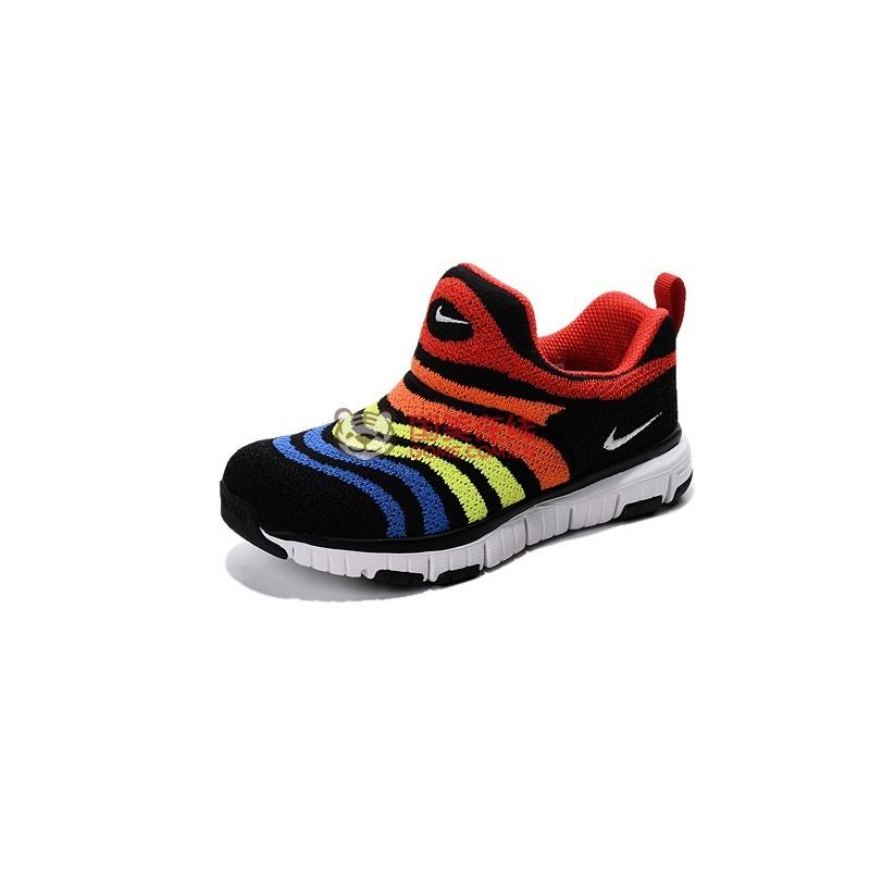 nike/耐克童鞋毛毛虫男宝宝鞋女童跑步鞋儿童运动鞋343938-701(荷兰橙