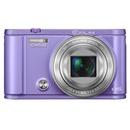 卡西欧(Casio)EX-ZR3600 WIFI长焦数码相机 自拍神器(紫色 官方标配)