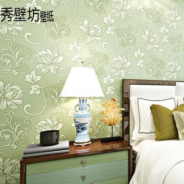 无纺布欧式背景墙壁纸环保厚实客厅卧室
