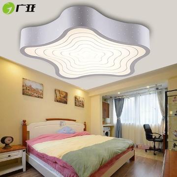 卧室灯具男女孩子房间