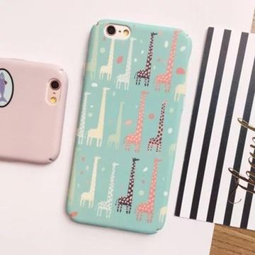 亿和源iphone搞怪猫吃鱼小动物6手机壳苹果6splus