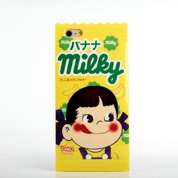 亿和源iphone牛奶妹6s手机壳可爱卡通糖果苹果6保护